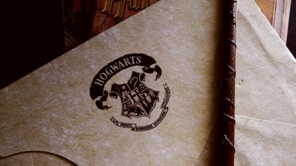 Hogwarts documents for Harry Potter