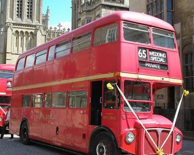 restored London Routemaster bus