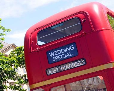 Tootbus Bath Private Hire wedding