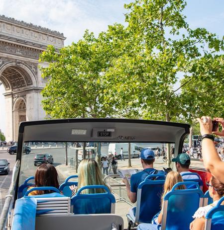 Tootbus Paris Express Arc de Triomphe