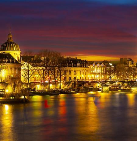 Tootbus Paris by Night Seine view