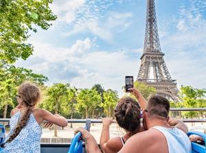 Tootbus Paris Kids Tour Eiffel Tower