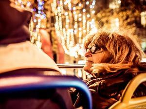 Tootbus Paris Christmas on board