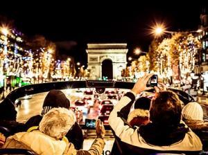 Tootbus Paris Christmas Champs Elysees