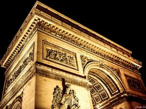 Tootbus Paris by Night Arc de Triomphe