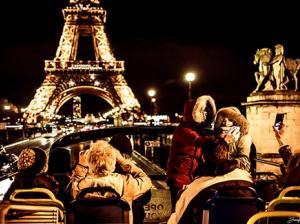 Tootbus Paris Christmas Tour Eiffel