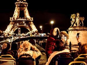 Tootbus Paris by Night Eiffel Tower