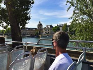 Tootbus Paris Discovery Seine river