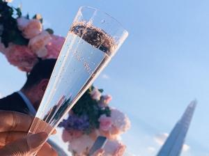 drinks and beautiful views