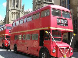 Restored Routemaster bus