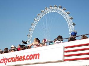 City Cruises Thames river cruise
