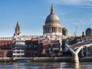 St Paul's Cathedral from southbank