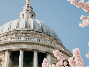St Paul's Cathedral in Spring